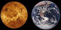 Größenvergleich Venus-Erde Quelle: Nasa
