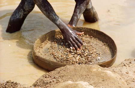 Blutdiamanten | Quelle: USAID Guinea