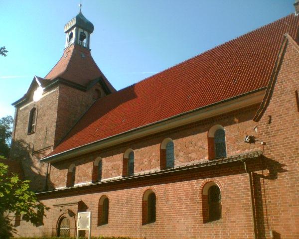 Die St. Johannis Kirche in Oldenburg (OH)