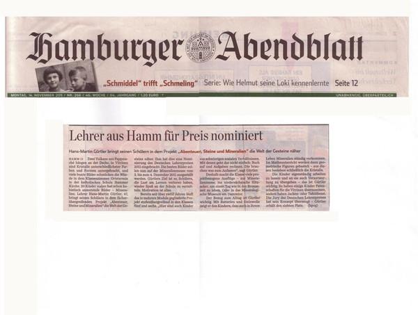 Hamburger Abendblatt 14.11.2011