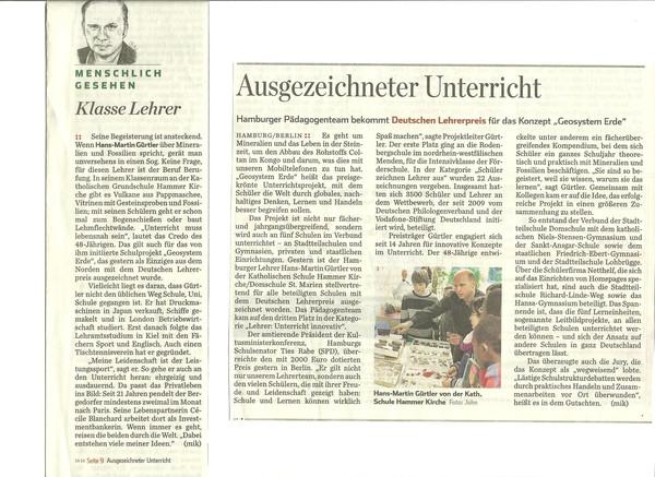 Hamburger Abendblatt 27.11.2012