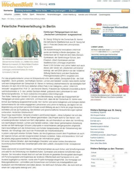 Wochenblatt St.Georg 28.11.2012