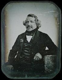 Louis Jacques Mandé Daguerre (1844, Aufnahme von Jean-Baptiste Sabatier-Blot)