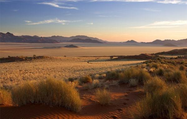 Die Halbwüste Namib