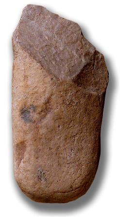 Oldowan-Werkzeug von Frühmenschen