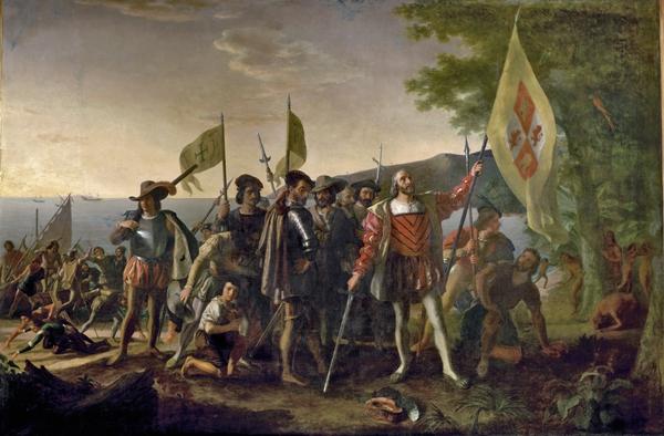 12. Oktober 1492 - Christoph Kolumbus entdeckt Amerika für Spanien